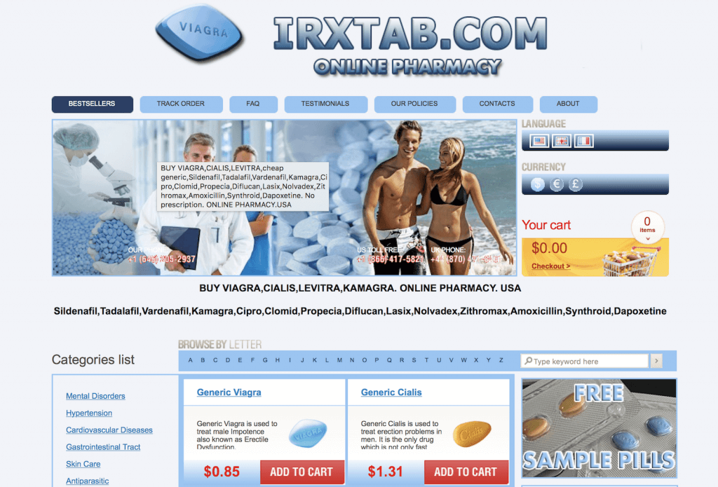 IRXTab.com Pharmacy Review
