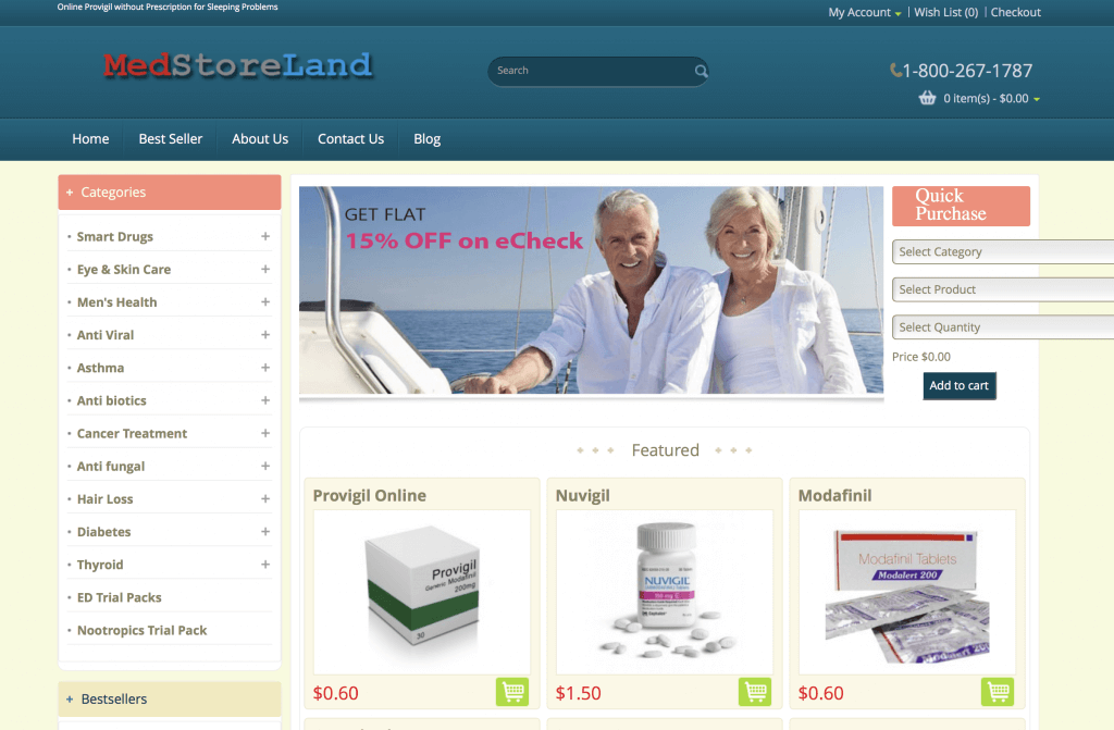 MedstoreLand.com Pharmacy Review