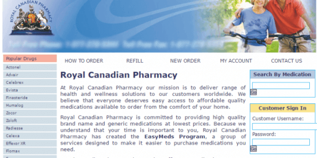 RoyalCanadianPharmacy.com Pharmacy Review