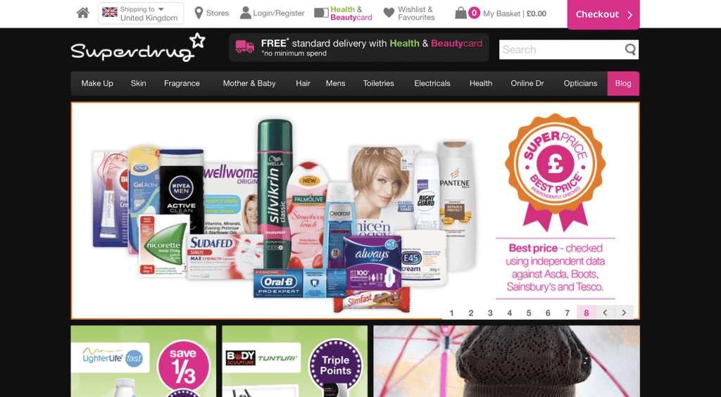 SuperDrug.com Pharmacy Review