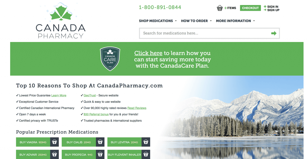 CanadaPharmacy.com Pharmacy Review