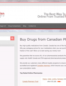 CanadianPharmacy365.net Pharmacy Review