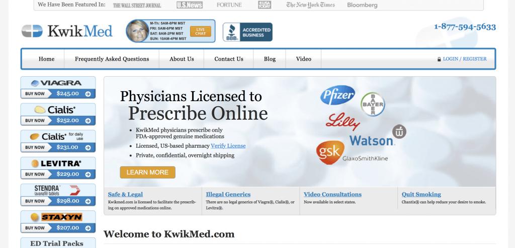 KwikMed.com Pharmacy Review