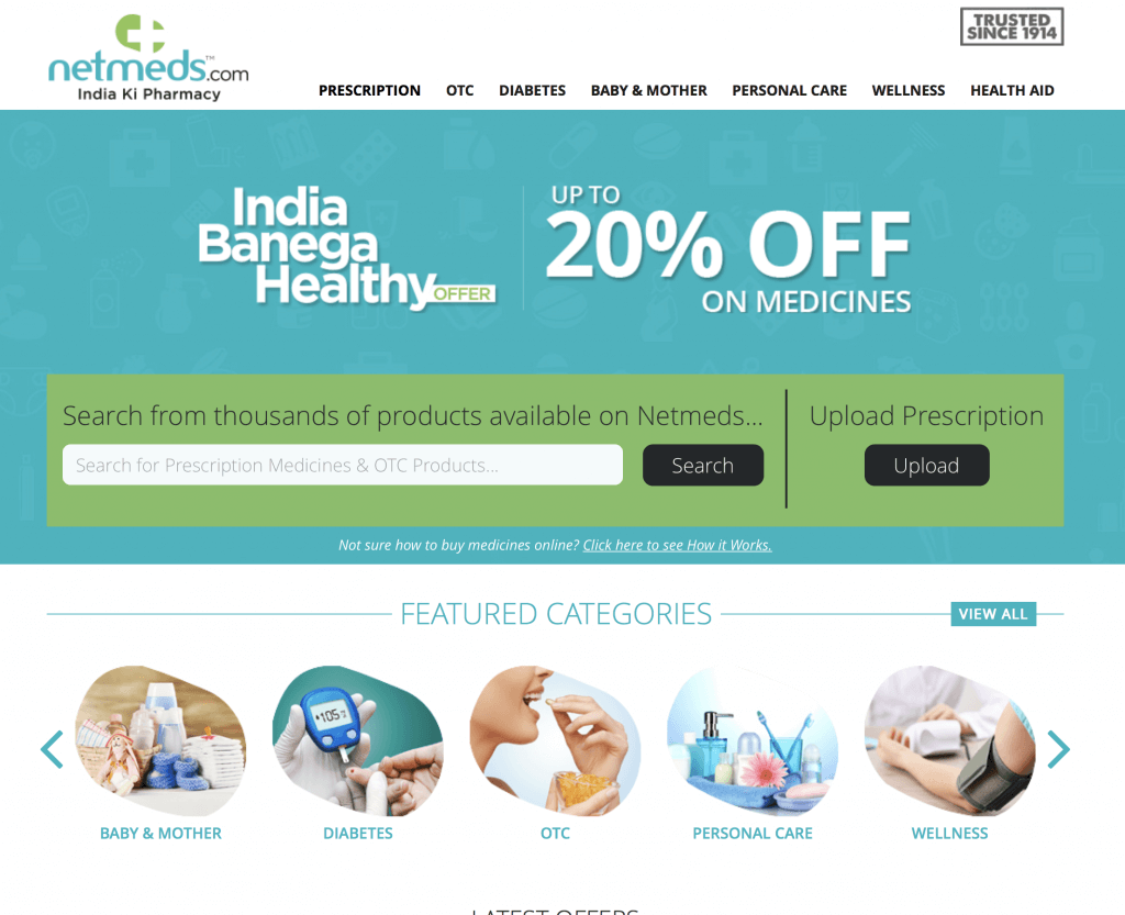 NetMeds.com Pharmacy Review