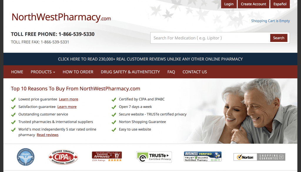 NorthwestPharmacy.com Pharmacy Review