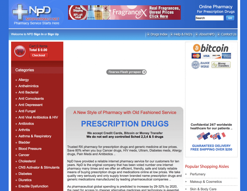 NpdPharmacy.net Pharmacy Review
