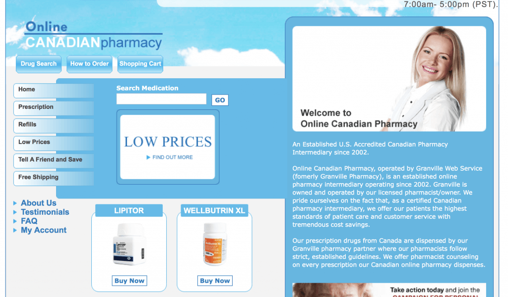 OnlineCanadianPharmacy.com Pharmacy Review