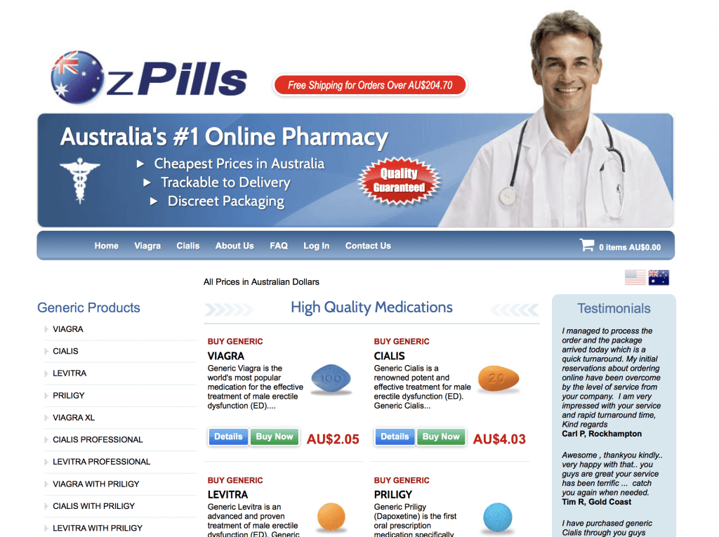 OzPills.com Pharmacy Review