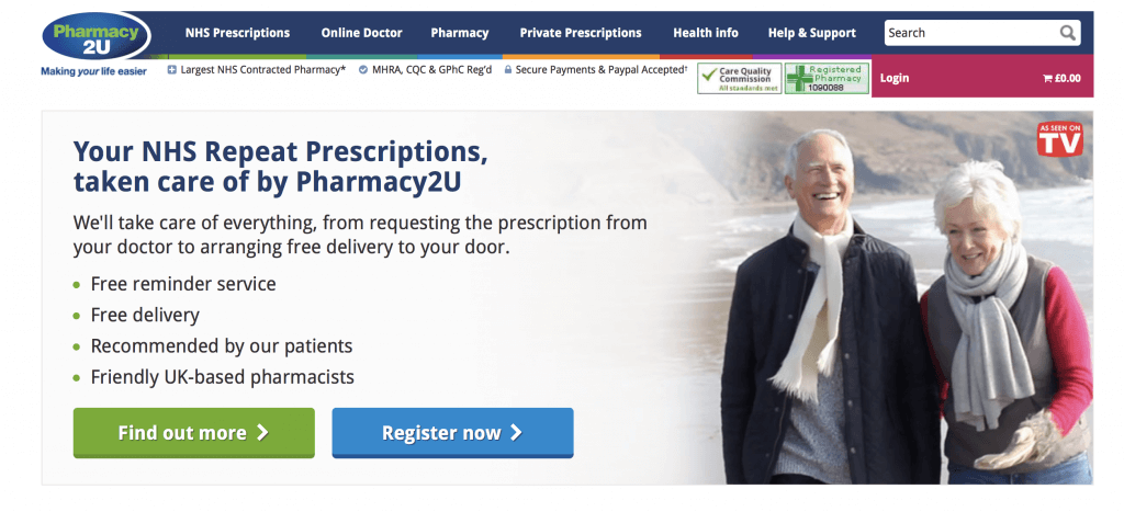 Pharmacy2u.co.uk Pharmacy Review