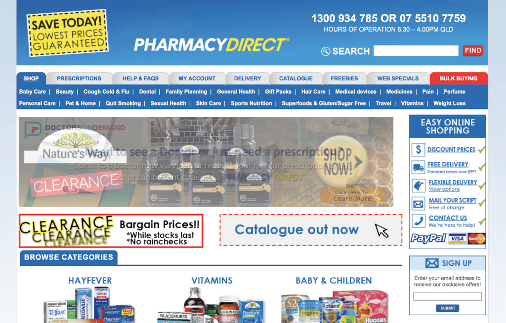 PharmacyDirect.com.au Pharmacy Review