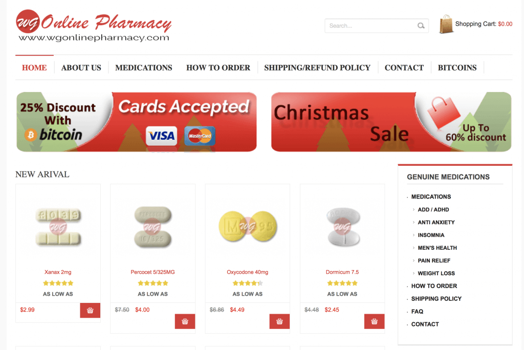 WgOnlinePharmacy.com Pharmacy Review