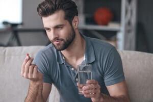Men Takes Stendra Pill
