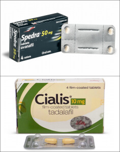 Spedra and Cialis