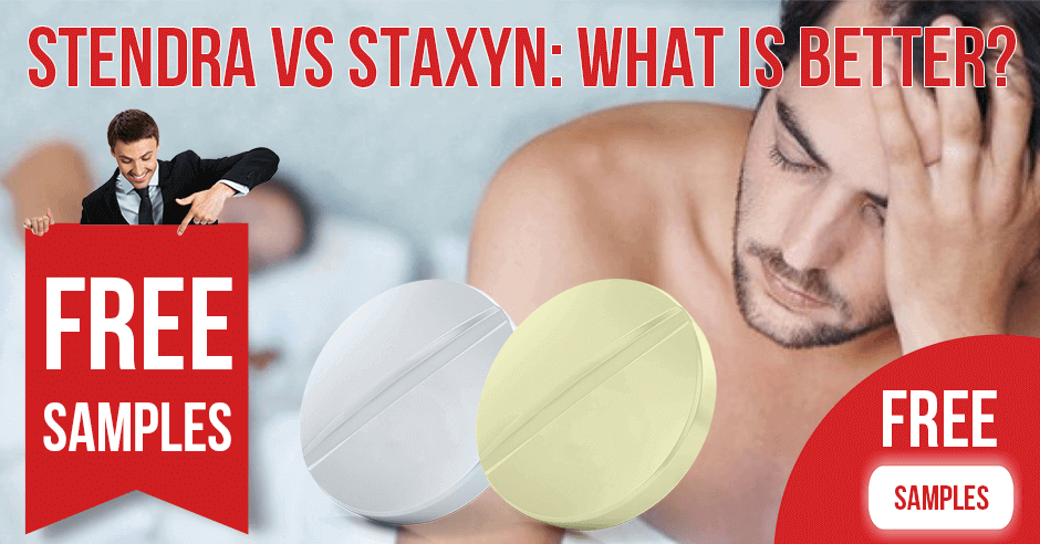 Stendra vs Staxyn: What Is Better?