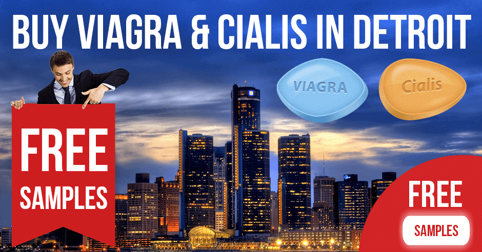Buy Viagra and Cialis in Detroit, Michigan