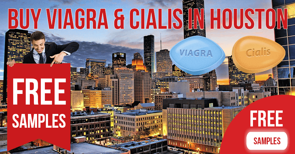 Buy Viagra and Cialis in Houston, Texas