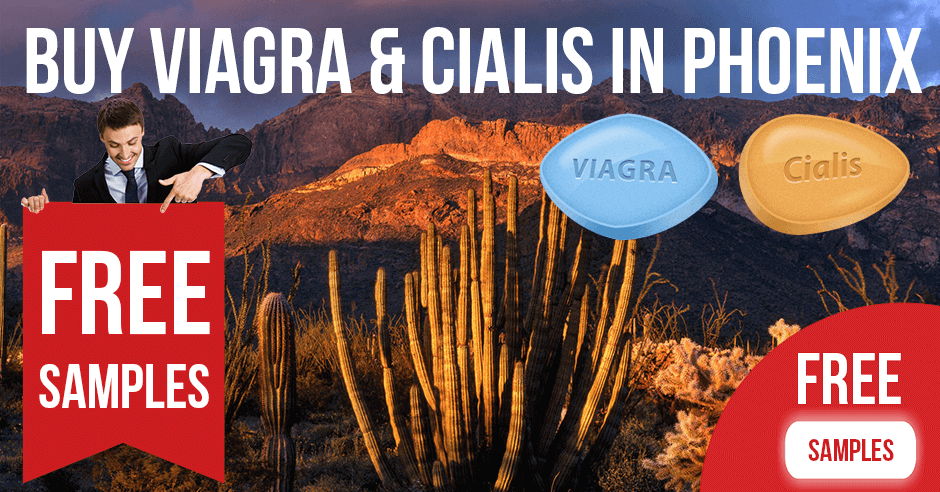 Buy Viagra and Cialis in Phoenix, Arizona