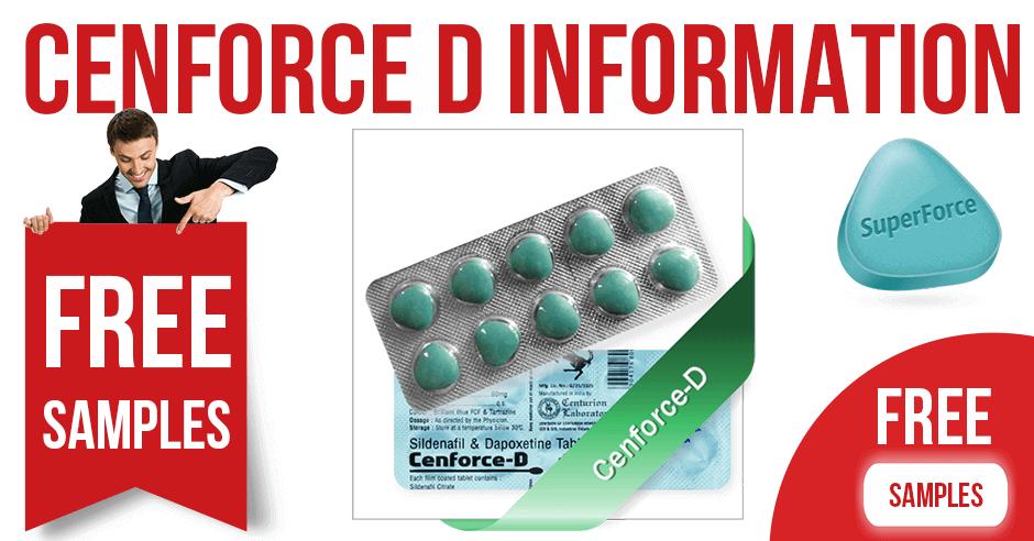 Cenforce D Drug Information