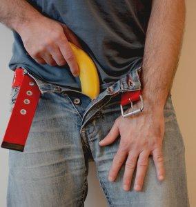 Banana erection
