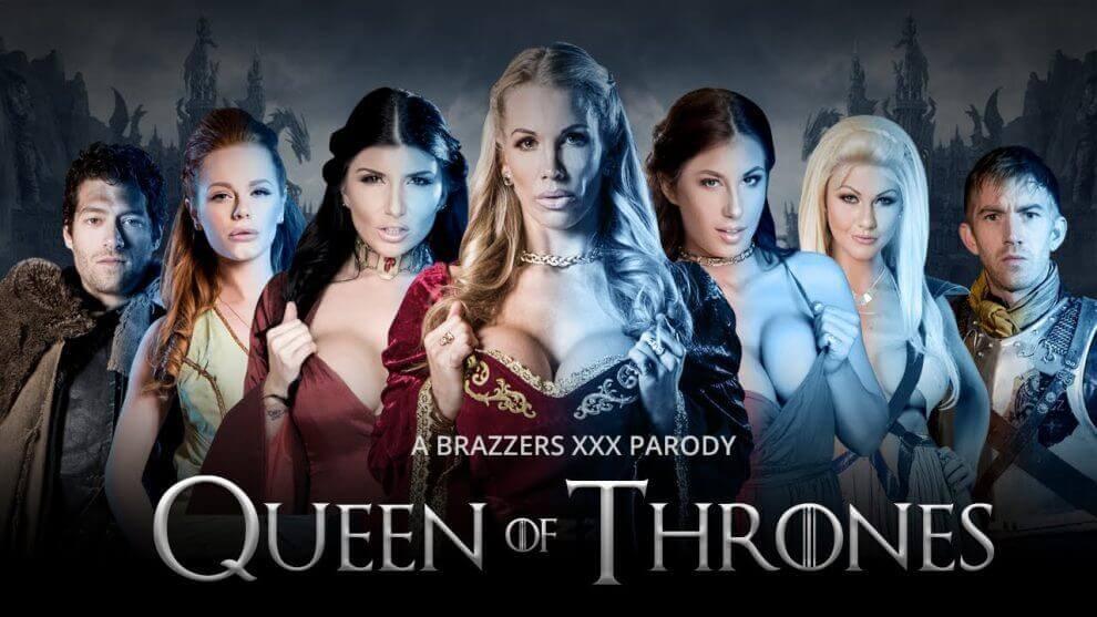 Queen of Thrones - Brazzers parody
