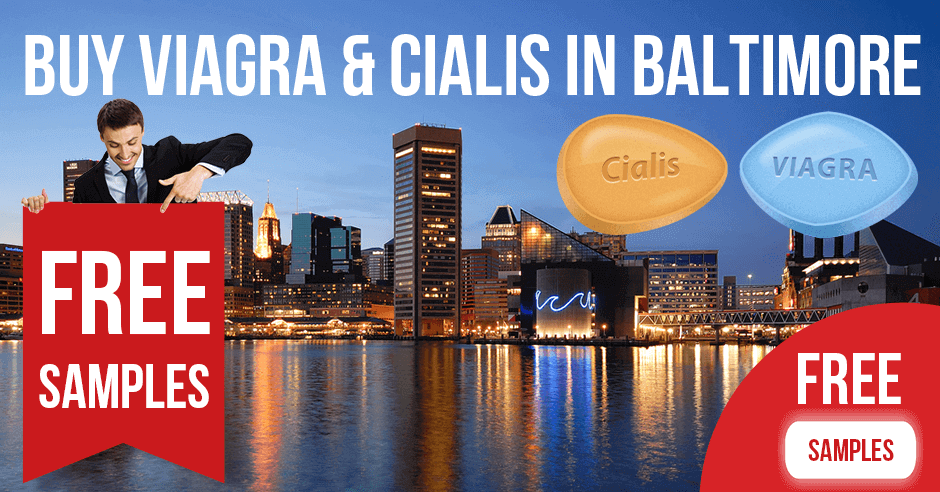 Buy Viagra and Cialis in Baltimore, Maryland