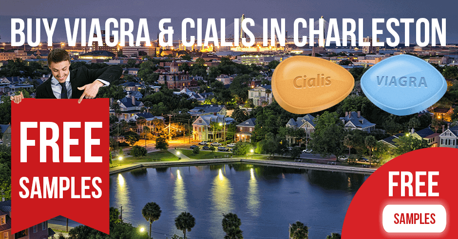 Buy Viagra and Cialis in Charleston, South Carolina