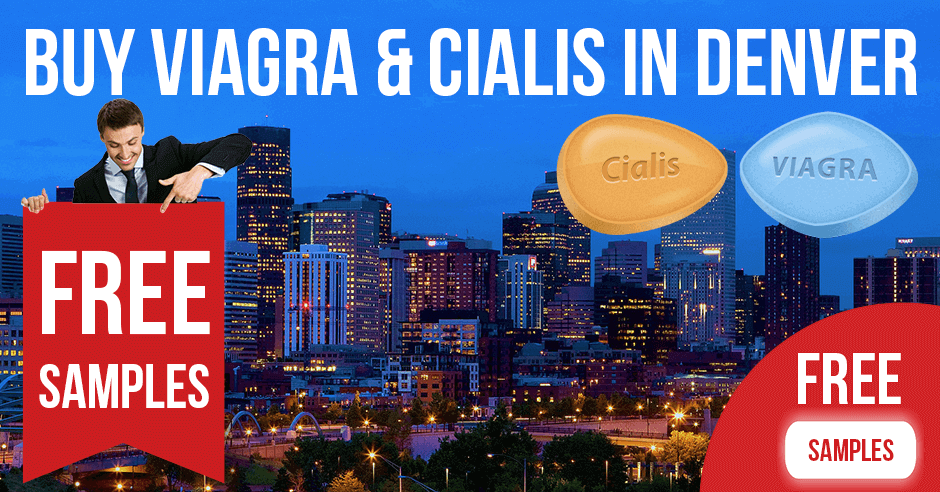 Buy Viagra and Cialis in Denver, Colorado