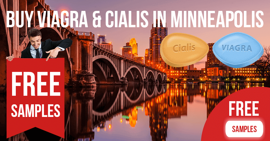 Buy Viagra and Cialis in Minneapolis, Minnesota