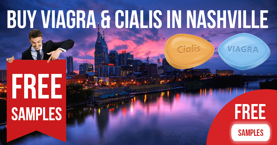 Buy Viagra and Cialis in Nashville, Tennessee