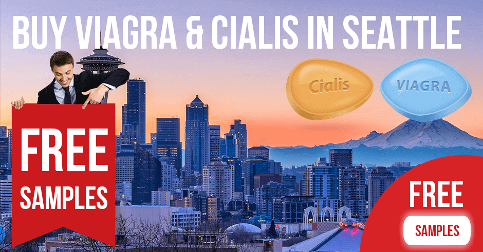Buy Viagra and Cialis in Seattle, Washington
