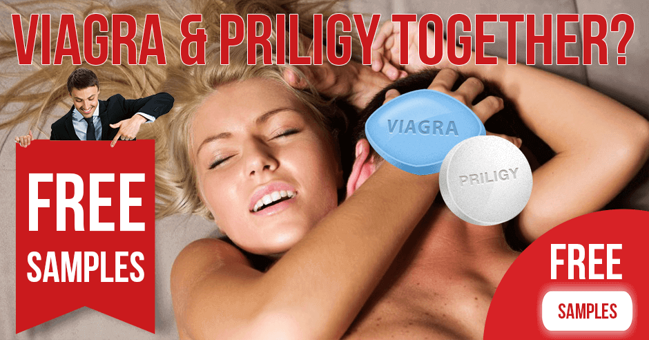 Can you take Viagra and Priligy together?