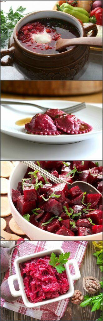 Beet dishes