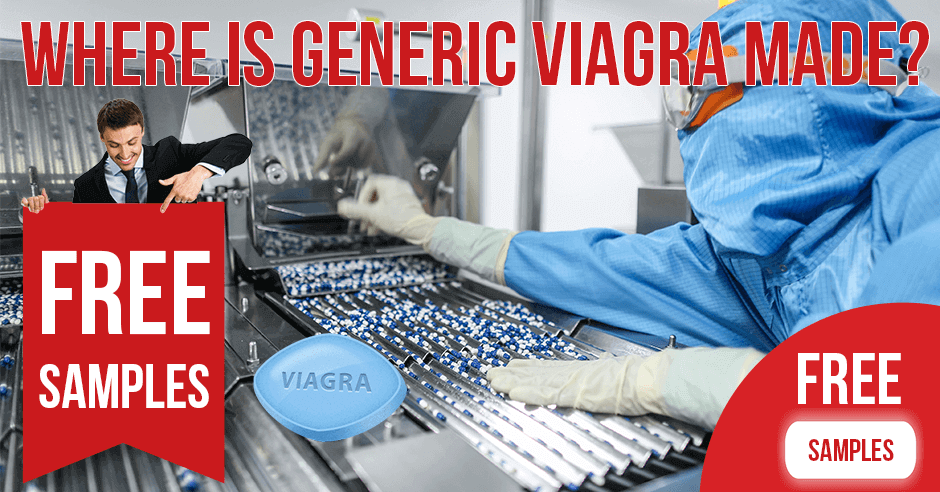 Where is generic Viagra made