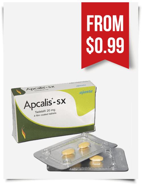 Apcalis SX 20 mg Tadalafil