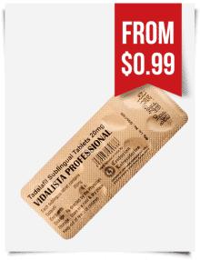 Cialis Professional 20 mg Tadalafil