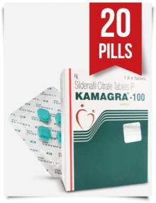 Kamagra 100 mg x 20 Tabs
