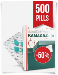 Kamagra 100 mg x 500 Tabs