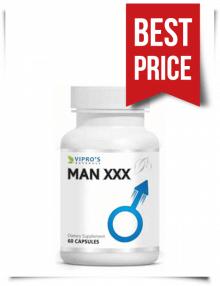 Buy Man XXX Herbal Capsules at Low Price 60 Caps