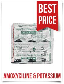 Buy Augmentin 625 Duo Generic Amoxyciline & Potassium Tablets