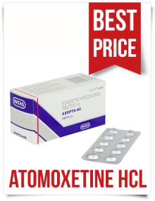 Buy Generic Strattera Tablets Axepta 60mg Atomoxetine Hcl