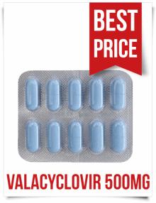 Buy Generic Valtrex Valacyclovir Tablets Centrex 500mg