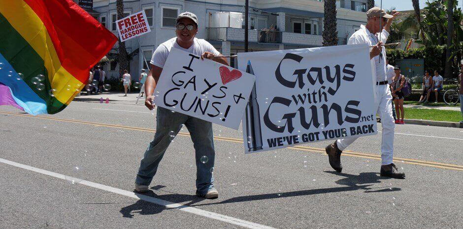 Gays and guns