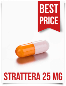 Buy Cheap Strattera from India Generic Atomoxetine 25mg Tabs
