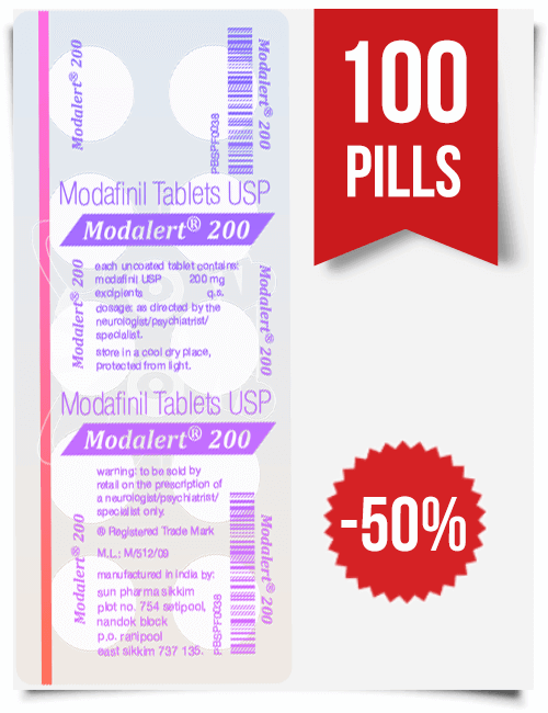Modalert 100 pills
