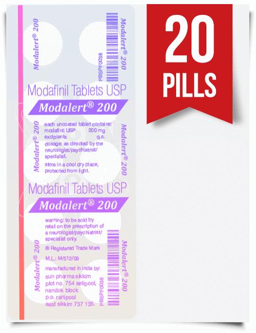 Modalert 20 pills