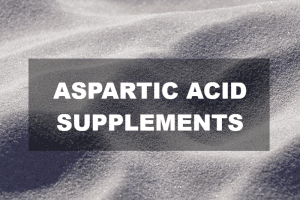 Aspartic acid supplements