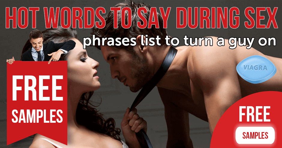 Hot words to say during sex: phrases list to turn a guy on