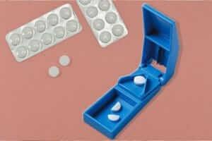Pills splitter