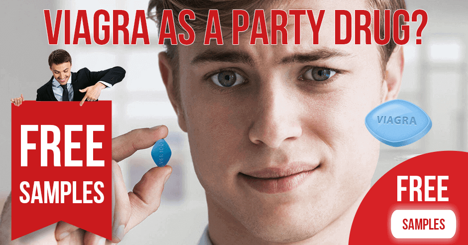 Why do young men take Viagra as a party drug