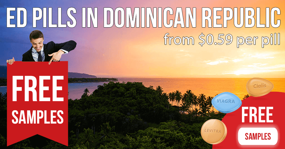 Buy Viagra, Cialis, and Kamagra in the Dominican Republic